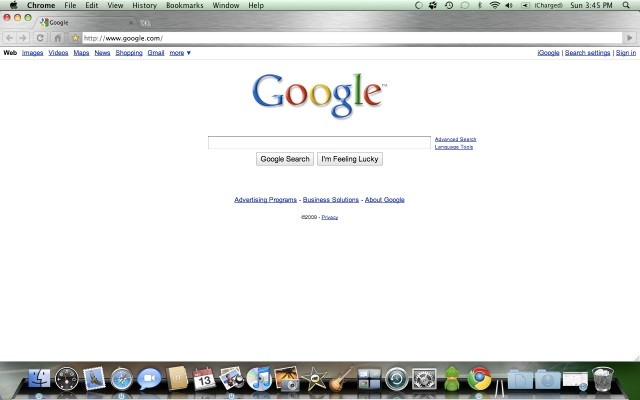 Chrome Mac Screenshot